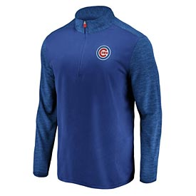 Chicago Cubs Practice Makes Perfect 1/2 Zip Sweatshirt