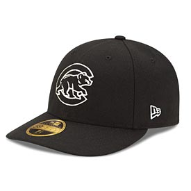 Chicago Cubs Black Walking Bear LP 59/50 Fitted Cap