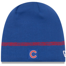 Chicago Cubs 2019 Clubhouse Skull Knit Hat