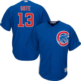 709713838 Chicago Cubs David Bote Alternate Cool Base Replica Jersey