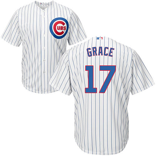 d012a99fb95 Chicago Cubs Mark Grace Youth Home Cool Base Replica Jersey