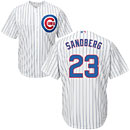 Chicago Cubs Ryne Sandberg Youth Home Cool Base Replica Jersey