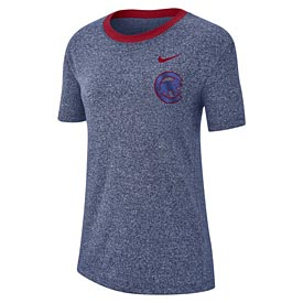 Chicago Cubs Ladies Nike Marbled T