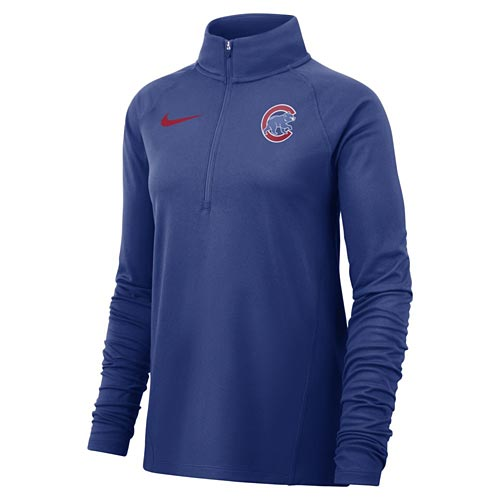 Chicago Cubs Ladies Nike Replen Walking Bear Jacket