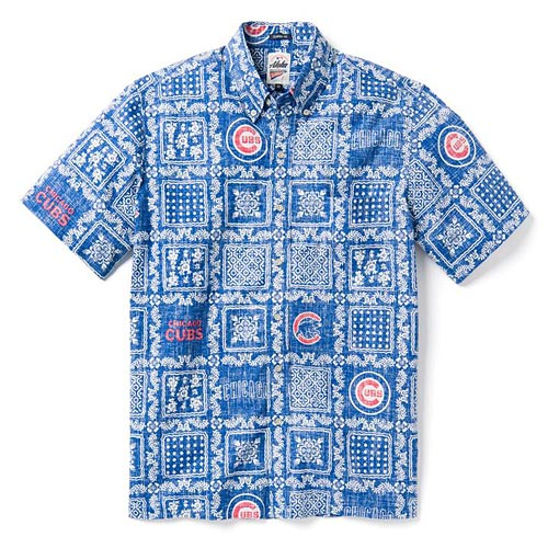 Chicago Cubs Lahaina Hawaiian Shirt