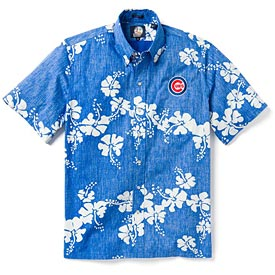 Chicago Cubs 50th State Hawaiian Shirt