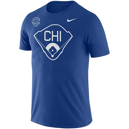 Chicago Cubs Nike Field Tee