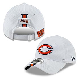 Chicago Bears 2019 Performance Training Adjustable Cap