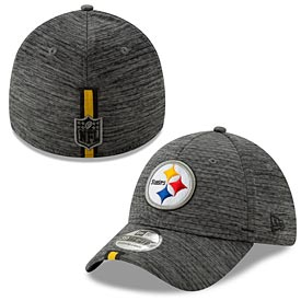 Pittsburgh Steelers 2019 Graphite Performance Training 39 Thirty Flex Fit Cap
