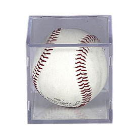 BallQube Baseball Cube Display Case