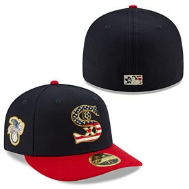 Chicago White Sox 2019 4th of July Low Profile 59/50 Fitted Hat