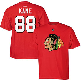 Chicago Blackhawks Patrick Kane Name and Number T-Shirt