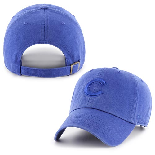 Chicago Cubs Royal Tonal Clean Up Adjustable Cap
