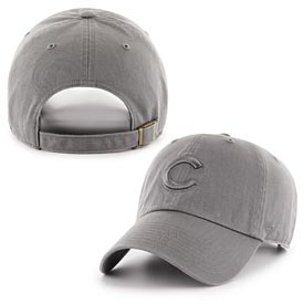 Chicago Cubs Grey Clean Up Adjustable Cap