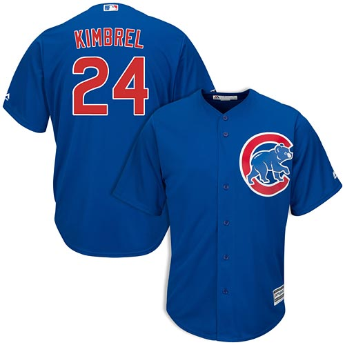 huge discount cc264 137cd Chicago Cubs Craig Kimbrel Youth Alternate Cool Base Replica Jersey