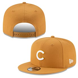 Chicago Cubs Gold Snapback Cap