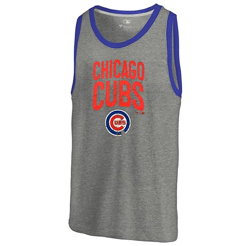 Chicago Cubs Building Strategy Tank Top