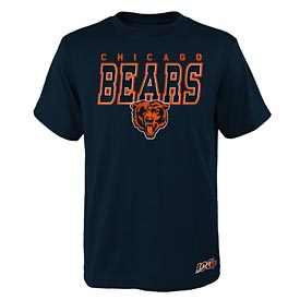 Chicago Bears Youth 100 Year Tee Shirt
