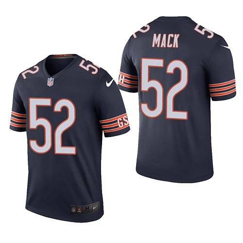 buy online 15df7 7c2d8 Chicago Bears Khalil Mack Legend Home Replica Jersey