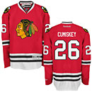 Chicago Blackhawks Kyle Cumiskey Red Premier Jersey w/ Authentic Lettering