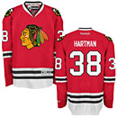 Chicago Blackhawks Ryan Hartman Red Premier Jersey w/ Authentic Lettering