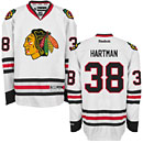 Chicago Blackhawks Ryan Hartman White Premier Jersey w/ Authentic Lettering