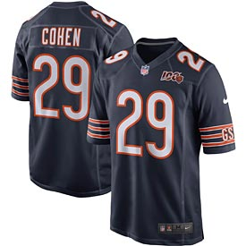 Chicago Bears Tarik Cohen 100 Yr Team Jersey