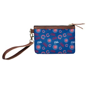 Chicago Cubs Printed Wristlet