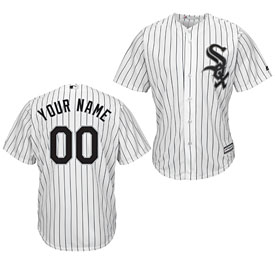 Chicago White Sox Customized Home Cool Base Replica Jersey
