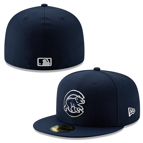 a763aae00efe2 Chicago Cubs Fresh Hook Walking Bear 59/50 Fitted Hat