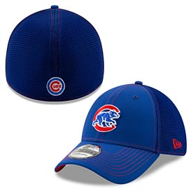 Chicago Cubs Walking Bear Visor Popped 39/30 Flex Fit Cap