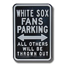Chicago White Sox Fan Parking Sign
