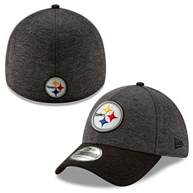 Pittsburgh Steelers Two-Tone Shaded 39Thirty Flex Fit Cap