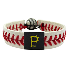 Pittsburgh Pirates Baseball Stitch Bracelet