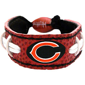 Chicago Bears Football Stitch Bracelet