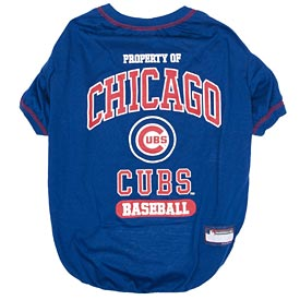 Chicago Cubs Property Of Pet T Shirt