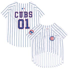 Chicago Cubs Pet Jersey
