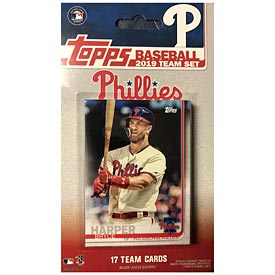 Philadelphia Phillies 2019 Topps Team Baseball Card Set
