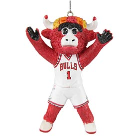 Chicago Bulls Mascot Ornament