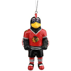 Chicago Blackhawks Mascot Ornament