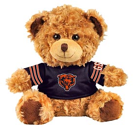 "Chicago Bears 10"" Bear Plush"