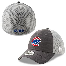 Chicago Cubs Walking Bear Camo 39/30 Flex Fit Cap