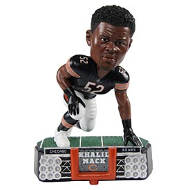 Chicago Bears Khalil Mack Stadium Lights Bobble