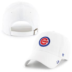 Chicago Cubs Ladies Miata White Adj Cap