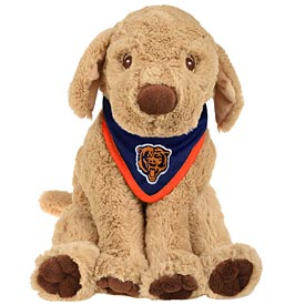 Chicago Bears Puppy Bandana Plush