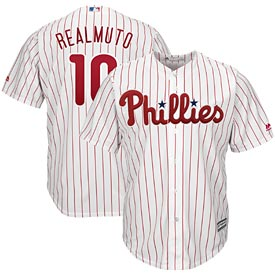 Philadelphia Phillies J.T. Realmuto Home Cool Base Replica Jersey