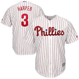 Philadelphia Phillies Bryce Harper Home Cool Base Replica Jersey