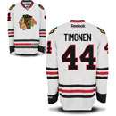Chicago Blackhawks Kimmo Timonen White Premier Jersey w/ Authentic Lettering