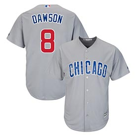 Chicago Cubs Andre Dawson Road Cool Base Replica Jersey