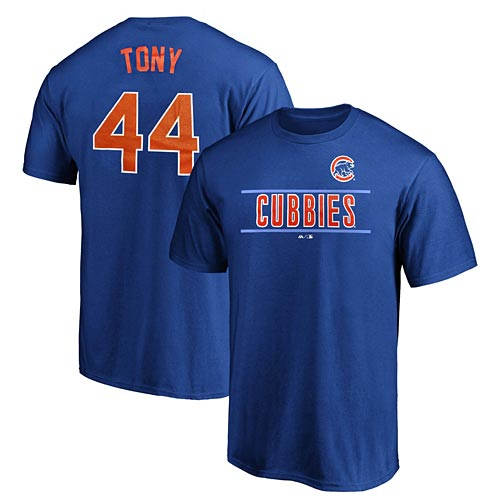uk availability 85754 dd660 Chicago Cubs Anthony Rizzo Youth Little League Nickname Tee
